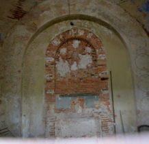 Myców-wnętrze kaplicy