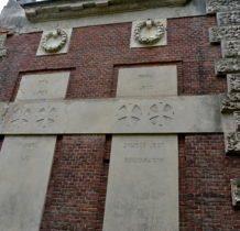 Myców-boczne ściany kaplicy z sentencjami