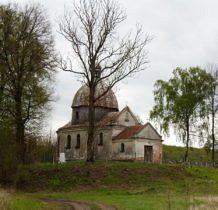 Wyżłów-cerkiew drewniano-murowana