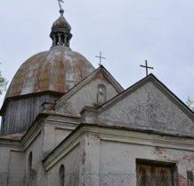 Wyżłów-cerkiew po ograbieniu i zniszczeniu nie pełni funkcji sakralnych