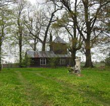 Hubinek-drewniana dzwonnica zaadoptowana na kaplicę