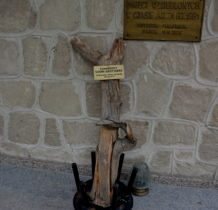 Dyniska-ocalały fragment Sosny Grottgera