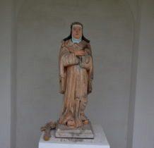 Dyniska-kapliczkowa figura