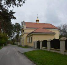 Turkowice-cerkiew(w czasach PRL Dom Ludowy)