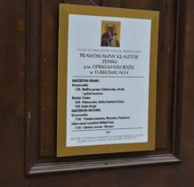 Turkowice-prosimy siostry z klasztoru o możliwość zwiedzenia cerkwi
