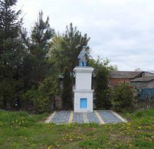 Turkowice-kapliczka w pobliżu kościoła