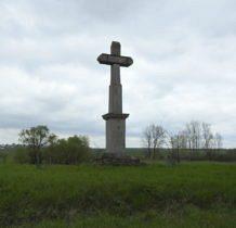 Sahryń-kamienny krzyż