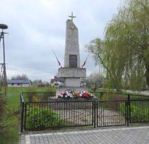 Tarnoszyn-pomnik pomordowanych przez bandy UPA
