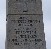 Tarnoszyn-pomnik