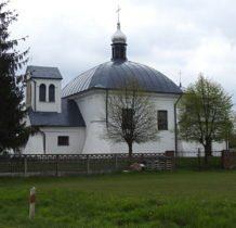 Modryń-cerkiew z 1740 roku