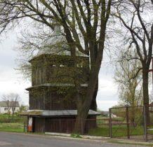 Szczepiatyn-drewniana dzwonnica