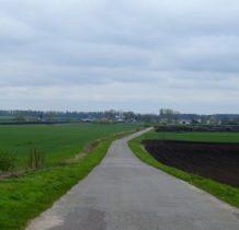Szczepiatyn-widok na wioskę