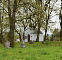 Dziekanów-kaplica na cmentarzu greckokatolickim