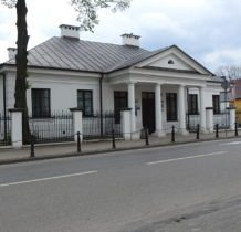 Hrubieszów-zabytkowy dworek z XIX w