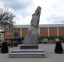 Hrubieszów-pomnik żołnierz polskiego podziemia