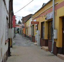 Hrubieszów-waska uliczka gdzie można było kupić wszystko