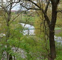 Hrubieszów-dolina rzeki Huczwy widziana ze wzgórza sanktuarium