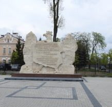 Hrubieszów-pomnik pamięci czynu zbrojnego przy browarze