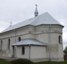 Posadów-na miejscu starej,drewnianej cerkwi