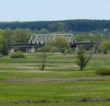 Królewski Kat-widok na kolejowy most graniczny