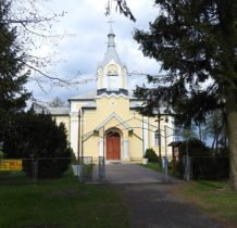 Czerniczyn-kościół wzniesiony jako cerkiew unicka w 1870 roku