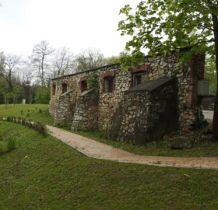 Bolechowice-pozostałość zabudowań dworskich