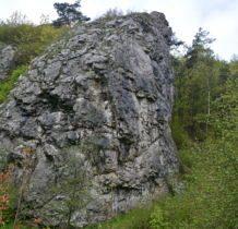 żółtym szlakiem dolina wawozu