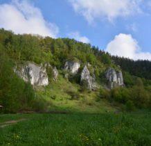 wejscie do Doliny Kobylańskiej-o tej porze jeszcze nie ma ludzi