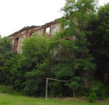 Moczydlnica Dworska- ruiny pałacu