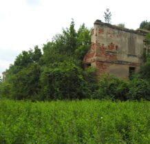 Moczydlnica Klasztorna-ruiny pałacu