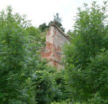 Moczylnica Klasztorna-ruiny pałacu