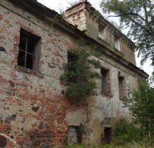 Dziewin-dwór w ruinie
