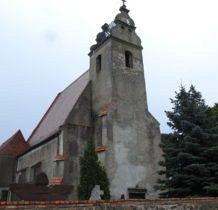 Dziewin-gotycki kościół z XIVw
