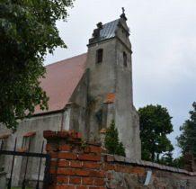 Dziewin-kościół do 1945 roku był światynia ewangelicka