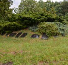 Dziewin-nagrobki ze starego cmentarza