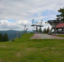 stacja narciarska Dwie Doliny-w dole Wierchomla Mała