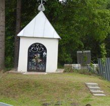 kapliczka przy krzyżówce na Złockie