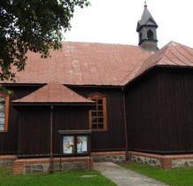 Brodnia- inne ujęcie kościoła