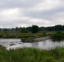 Łyszkowice- w pobliżu kamiennego wodospadu