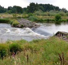 Łyszkowice- kamienny wodospad na Warcie
