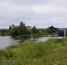 Łyszkowice- ujęcie elektrowni od strony rzeki