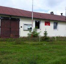 Mrowiczna- budynek remizy OSP