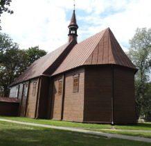 Pęczniew- kościół zbudowany przez właścicieli wsi Kossowskich