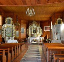 Pęczniew- w kościele
