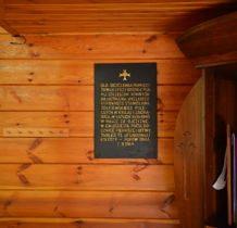 Pęczniew- pamiatkowa tablica w nawie kościelnej