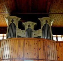 Pęczniew- kościelne organy