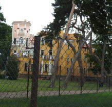 Rożdżały- pałac niedostepny dla zwiedzajacych