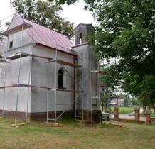 Siedlatków- remont kaplicy