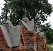 Siedlatków- stary mur cmentarny