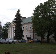 Stary gostków- pałac Grudzińskich, obecnie siedziba gminy